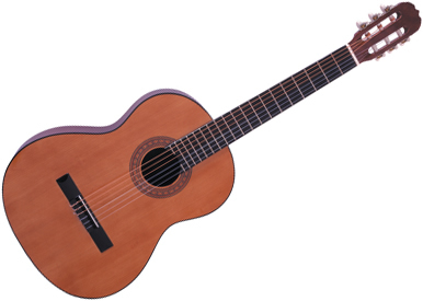 Classical nylon stringed acoustic